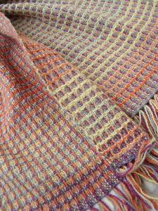 waffle weave scarf inspiration