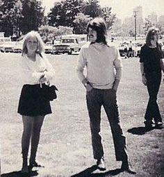 John Bonham with wife Patty