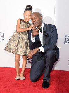 Pin for Later: See All the Stars on the AMAs Red Carpet!  Pictured: Tyrese Gibson