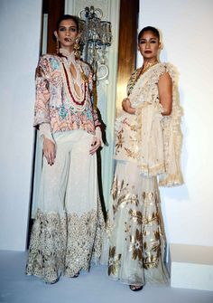 Rina Dhaka at Delhi Couture week 2014.  #perniaspopupshop #designer #trends #style #fashion #glamour #gorgeous #beautiful #amazing #allure #appeal #chic #labellove #Delhi #Coutureweek