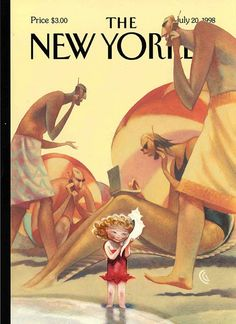 The New Yorker – Cover Illustration by Carter Goodrich