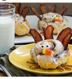 Soooo cute for thanksgiving breakfast!