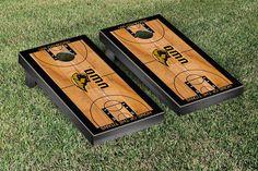 Wisconsin-Oshkosh Titans Basketball Court Cornhole Game Set