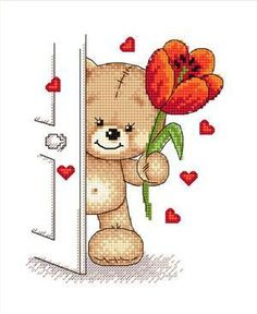 For you Cross Stitch Free Pattern