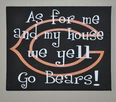 Oh man!!!  I NEED this!!  GO BEARS!