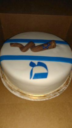 Shofar cake