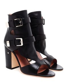 Browns fashion & designer clothes & clothing | LAURENCE DACADE | 'Doony' Leather Buckle Boots