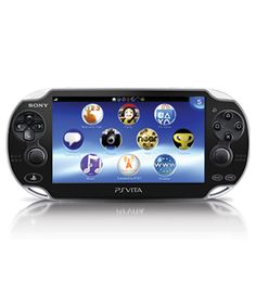 Handheld gaming just got cooler. The Playstation Vita features a touchscreen, rear multi-touch pad, analog sticks and even a camera! #playstation #gaming $299.99