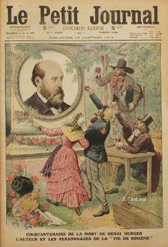 ESCLAFFE MOBILE - Quand un amour s'en va de mon cœur, je mets... | Henry Murger Scènes de la vie de bohème, 1848