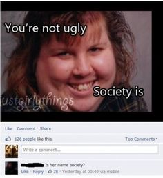 Society might be her name?