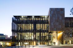 Sustainable Architecture David Oppenheim Award 2015 The University of Queensland, Global Change Institute by Hassell.