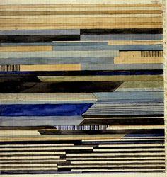 Textile design by Gunta Stölzl, pioneering master of the weaving studio at The Bauhaus. Bauhaus Textiles, Bauhaus Design, Tapestry Weaving, Textile Artists, Surface Pattern Design, Textile Patterns, Art Deco, Fiber Art, Abstract Art