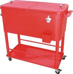 80qt Patio Cooler Cart From Jinhua Dongrun Tools Co.,ltd