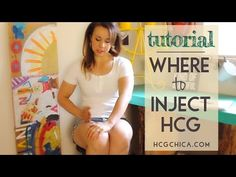 Where to Inject hCG - Injection Sites - YouTube