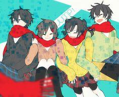 Shintaro, Ayano, Takane, & Haruka | Kagerou Project
