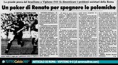 31 LUGLIO 1988 | Renato Portaluppi illude i tifosi della Roma