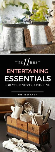 Party decor ideas for entertaining, family gatherings, or casual get togethers in your home.