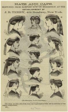 Post-war, 1867 hats