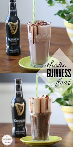 Guinness + Ice Cream = a wonderfully delicious treat of St. Patrick's Day! | Inspired by Charm