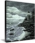 Madeline's Lighthouse by Ave Hurley now available at Imagekind starting at $9.49
