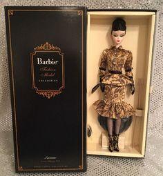 LUCIANA SILKSTONE BARBIE DOLL 2013 FASHION MODEL BDH22 GOLD LABEL NRFB MINT