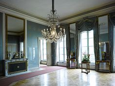 Nymphenburg Palace Interiors - Queen's Audience Room