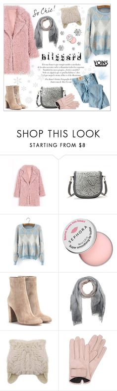 """""""Yoins"""" by aurora-australis ❤ liked on Polyvore featuring Sephora Collection, Gianvito Rossi, Brunello Cucinelli, Mario Portolano, Dickies, polyvoreeditorial, blizzard and yoins"""