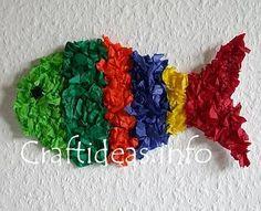 Rainbow Fish story craft