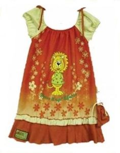 Hooligans Kids Clothing Dress it up Lioness Dress
