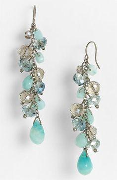Nordstrom 'Beach Glass' Cluster Earrings | Nordstrom