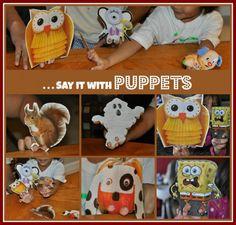 handmade finger puppets