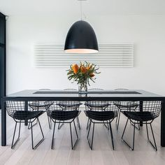 Modern Home Wire Dining Chairs Design Ideas, Pictures, Remodel, and Decor