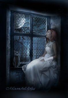 Moonlight... by moonchild-ljilja.deviantart.com on @deviantART