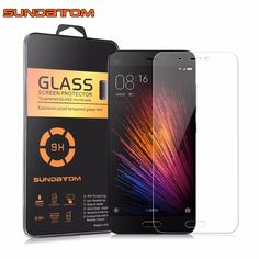 Xiaomi 5 M5 Screen Protector 9H Glass Film Ultra Thin Real SUNDATOM Premium Tempered Glass For Xiaomi Mi5 ** Details can be found by clicking on the image.
