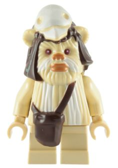 Lego Minifigure SW001C Battle Droid With One Straight Arm Tan x 1