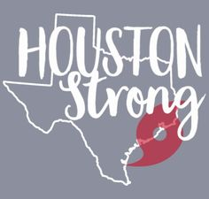 Houston Strong Hurricane Harvey Support Shirt Shirt Design   Zoomed