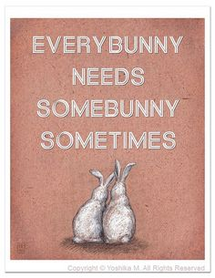 every bunny...really