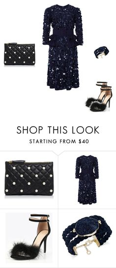 """Untitled #4620"" by explorer-14576312872 ❤ liked on Polyvore featuring Boutique Moschino, Michael Kors and INC International Concepts"