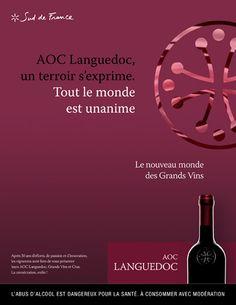 Publicis Activ Marseille | Vins du Languedoc