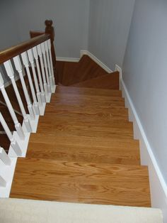 Http://www.stairsupplies.com/product Category/wood Stair Parts/stair  Treads Materials/wood Stair Treads Risers/ | Finished Projects | Pinterest  | Wood Stair ...