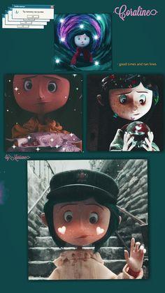 Coraline Movie, Coraline Art, Coraline Jones, Coraline Aesthetic, Bullet Journal School, Other Mothers, Corpse Bride, Aesthetic Iphone Wallpaper, Capricorn