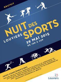 Equipez-vous et rejoignez-nous pour vivre la première NUIT DES SPORTS à #Louviers
