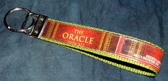 Wristlet Key Chain from Repurposed Bell's Brewery The Oracle DIPA Ale Beer Labels by squigglechick on Etsy