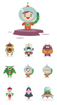Ilustración infantil · Fun Choices by David Sierra, via Behance