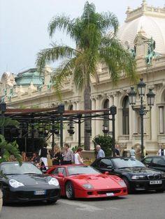 Monaco - Vaya cochazos...