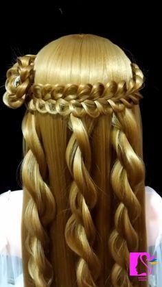 Hairstyle Tutorial:Viking style Mermaid Hair Extensions, Rainbow Hair Extensions, Clip In Hair Extensions, Braided Hairstyles Tutorials, Easy Hairstyles, Straight Hairstyles, Viking Haircut, Frozen Hair, Hair Doo