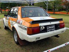 Mitsubishi Lancer 2000 Turbo Rally Car