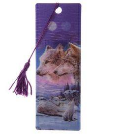 Wolves 3D Bookmark - Pair 2,90€