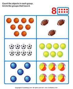 Counting Objects in the Pictures Worksheet Number Activities, Math Games, Activities For Kids, Speech Language Therapy, Speech And Language, Name Tag For School, Math For Kids, Preschool Worksheets, Counting