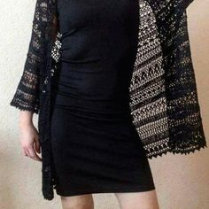 Check out this item in my Etsy shop https://www.etsy.com/ru/listing/510223243/crochet-black-cardigan-crochet-lace